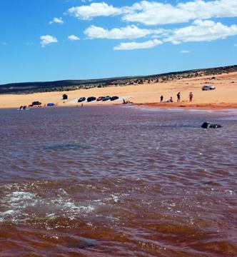 Sand Hollow Beach