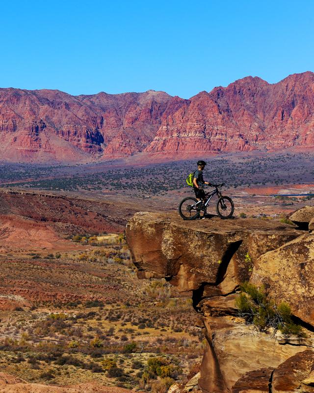 Paradise Rim Trail mountain biking