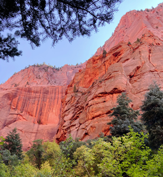 Kolob Canyon Red Rock