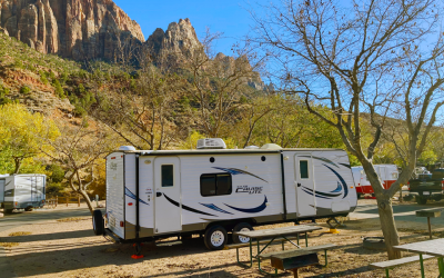 Camping Trailer Rentals in Zion