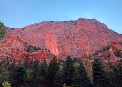 Kolob Canyon hike red face