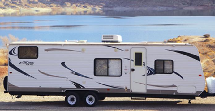 Papa Bear trailer exterior