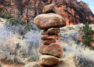 Red Reef rock tower