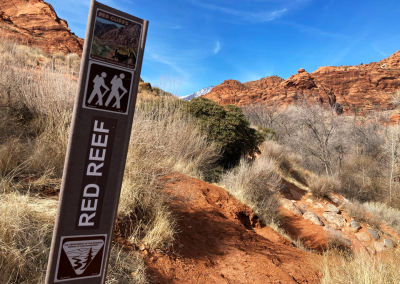Red Reef Trail head