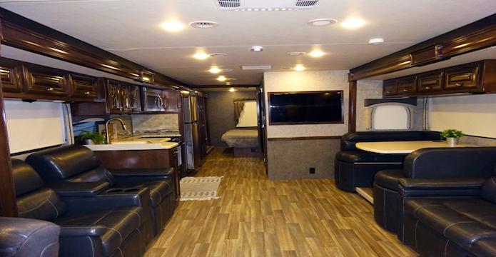 Kodiak trailer Interior